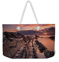 Jagged Rocks Weekender Tote Bag