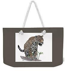 Jaguar 10 Weekender Tote Bag