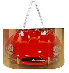 Jaguar E-type 1960s Weekender Tote Bag