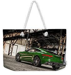 Jaguar F-type - British Racing Green - Rear View Weekender Tote Bag