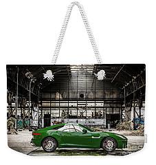 Jaguar F-type - British Racing Green - Side View Weekender Tote Bag