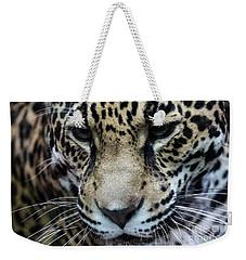 Jaguar Up Close Weekender Tote Bag