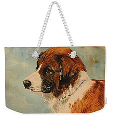 Jake Weekender Tote Bag by Betty-Anne McDonald