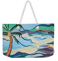 Jamaican Sea Breeze Weekender Tote Bag