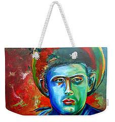 James A Giant Weekender Tote Bag