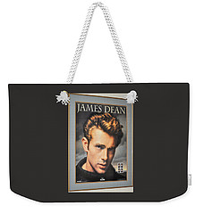 James Dean Hollywood Legend Weekender Tote Bag