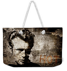 James Dean Hot Weekender Tote Bag