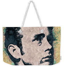 James Dean Portrait Weekender Tote Bag
