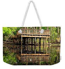 James E Grey Fishing Pier Weekender Tote Bag