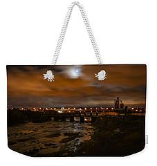 James River At Night Weekender Tote Bag