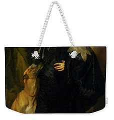 Weekender Tote Bag featuring the painting James Stuart - Duke Of Richmond And Lennox                       by Anthony Van Dyck