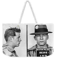 James Whitey Bulger Mug Shot 1953 Horizontal Weekender Tote Bag