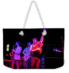 Weekender Tote Bag featuring the photograph Jammin by Aaron Martens