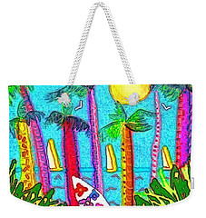 Jammin Weekender Tote Bag by Holly Martinson