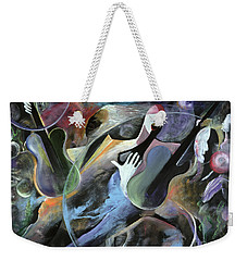 Jammin Weekender Tote Bag by Ikahl Beckford