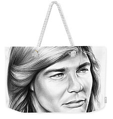 Jan Michael Vincent Weekender Tote Bag by Greg Joens