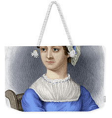 Weekender Tote Bag featuring the photograph Jane Austen by Granger