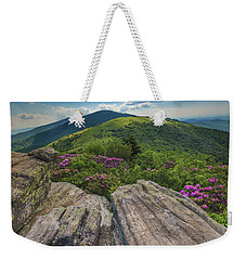 Jane Bald Rhododendrons Weekender Tote Bag