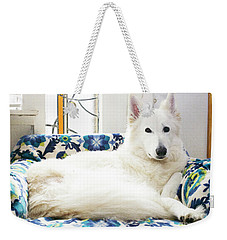Jane In Her Favorite Spot Weekender Tote Bag