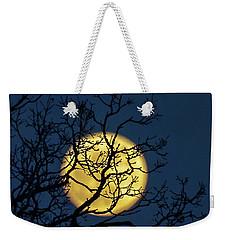 Janet's Moon Weekender Tote Bag