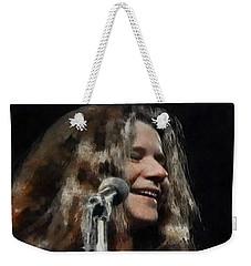 Janis Weekender Tote Bag by Sergey Lukashin