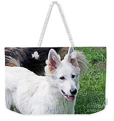 Janie As A Pup Weekender Tote Bag