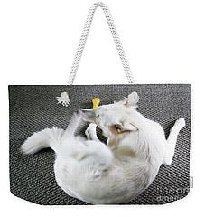Janie Is A Painey Weekender Tote Bag