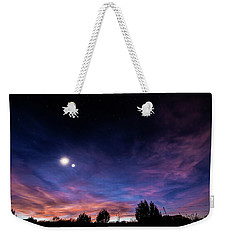 January 31, 2016 Sunset Weekender Tote Bag