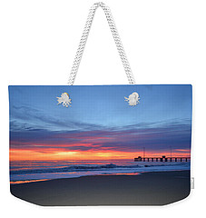 Weekender Tote Bag featuring the photograph January 8, 2018 by Barbara Ann Bell