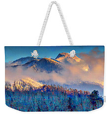 January Evening Truchas Peak Weekender Tote Bag