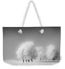 January Frost Weekender Tote Bag