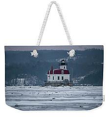 January Morning At Esopus Light Weekender Tote Bag