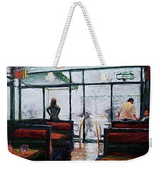 January, Morning Break Weekender Tote Bag