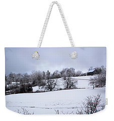 Weekender Tote Bag featuring the photograph January Morning by Michael Friedman