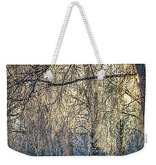 Weekender Tote Bag featuring the photograph January,1-st, 14.35 #h4 by Leif Sohlman