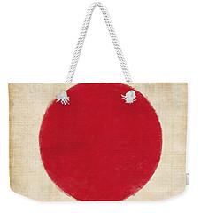 Japan Flag Weekender Tote Bag