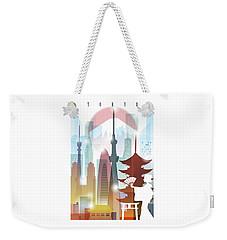 Japan Tokyo 2 Weekender Tote Bag