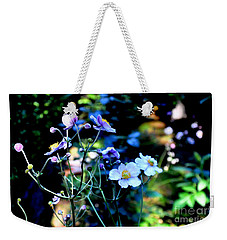 Japanese Anemone In The Afternoon Light Weekender Tote Bag