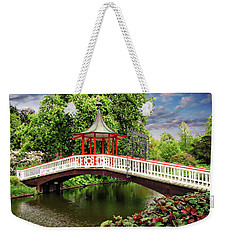 Japanese Bridge Garden Weekender Tote Bag