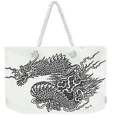 Japanese Dragon Weekender Tote Bag