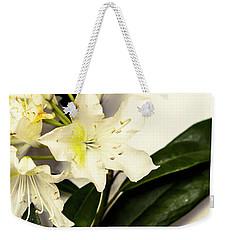 Japanese Flower Art Weekender Tote Bag