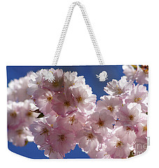 Japanese Flowering Cherry Prunus Serrulata Weekender Tote Bag