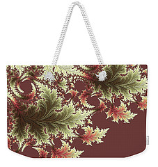 Weekender Tote Bag featuring the digital art Japanese Garden I by Susan Maxwell Schmidt