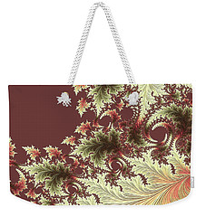 Weekender Tote Bag featuring the digital art Japanese Garden Il by Susan Maxwell Schmidt