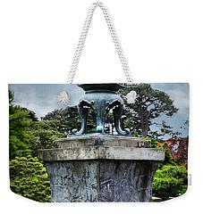 Japanese Garden Weekender Tote Bag by Judy Wolinsky