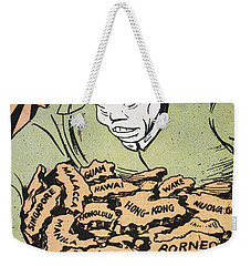 Weekender Tote Bag featuring the photograph Japanese Imperialism by Granger