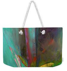 Weekender Tote Bag featuring the painting Japanese Longstem  by Iconic Images Art Gallery David Pucciarelli
