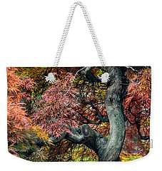 Japanese Maple - Aged To Perfection Weekender Tote Bag