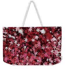 Japanese Maple Leaves Weekender Tote Bag
