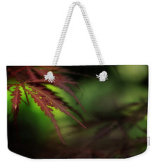 Weekender Tote Bag featuring the photograph Japanese Maple by Mike Eingle